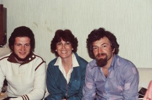 Yuli Edelstein, Shirley Molod co,  and Yuli Kosharovsky, Moscow 1981