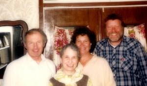 Igor and Inna Uspensky, Enid and Stuart Wurtman, Jerusalem