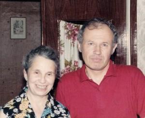 Inna and Igor Uspensky. Moscow, 1988 co RS