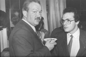 Alexsander Ostrovsky and Alexander Shmukler, Moscow, 1989
