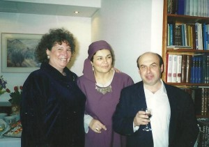 Enid Wurtman co, Natasha and Natan Sharansky